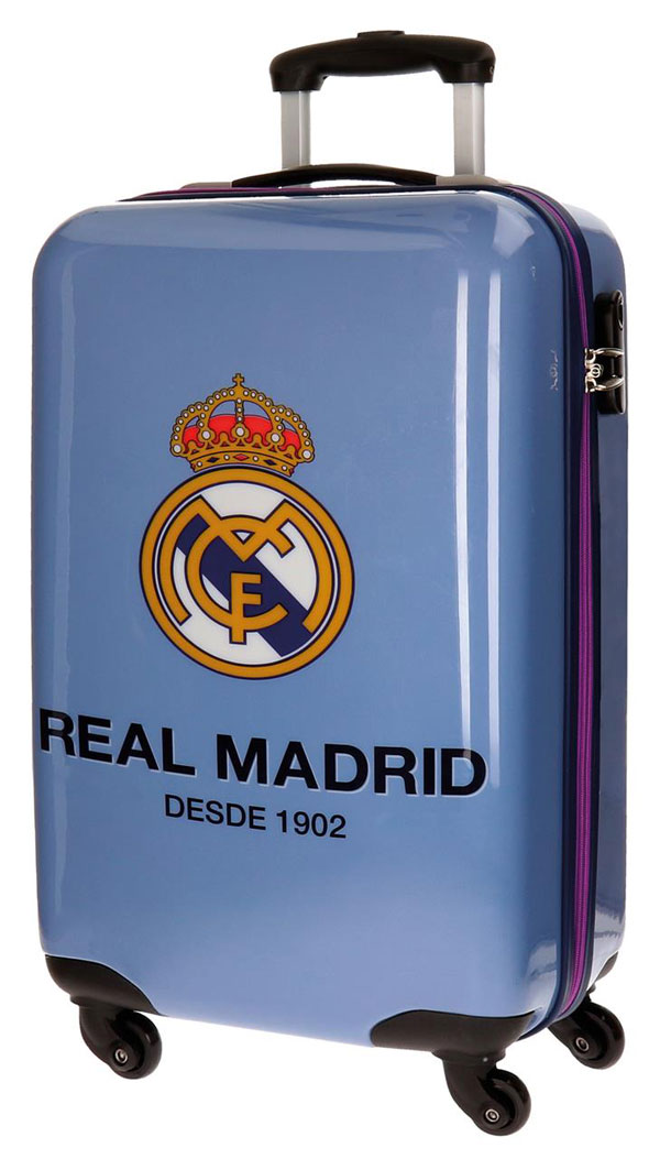 JOUMMABAGS Cestovní kufr ABS Real Madrid One color one club blue objem 33 l - Kufry Joummabags