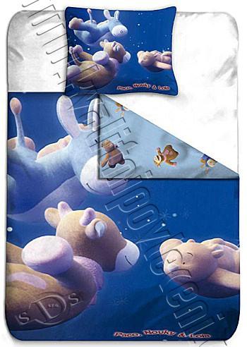 BLGS povlečení Nouky létání bavlna 140x200 65x65