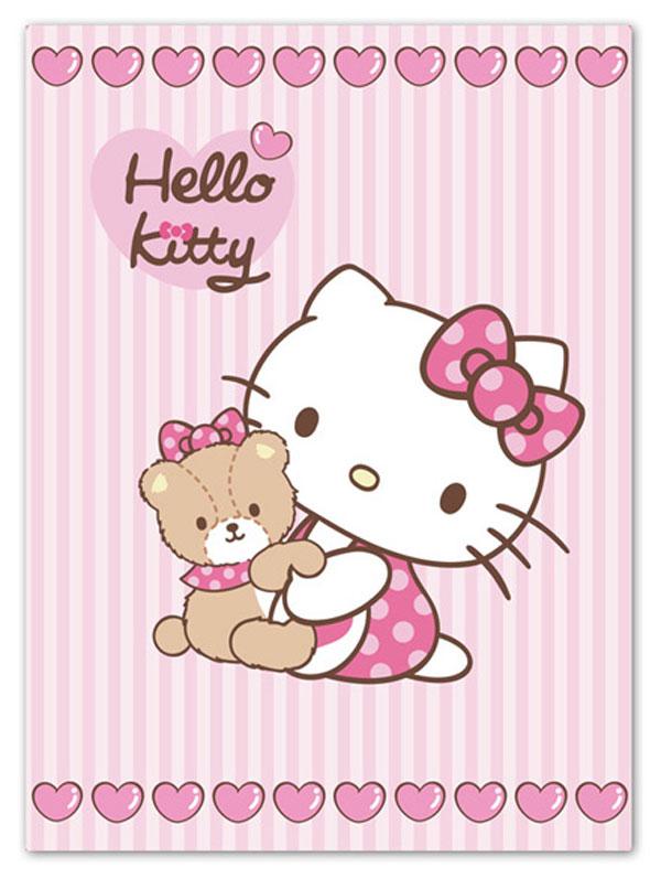 Detexpol Španělská deka Hello Kitty Teddy 80/110