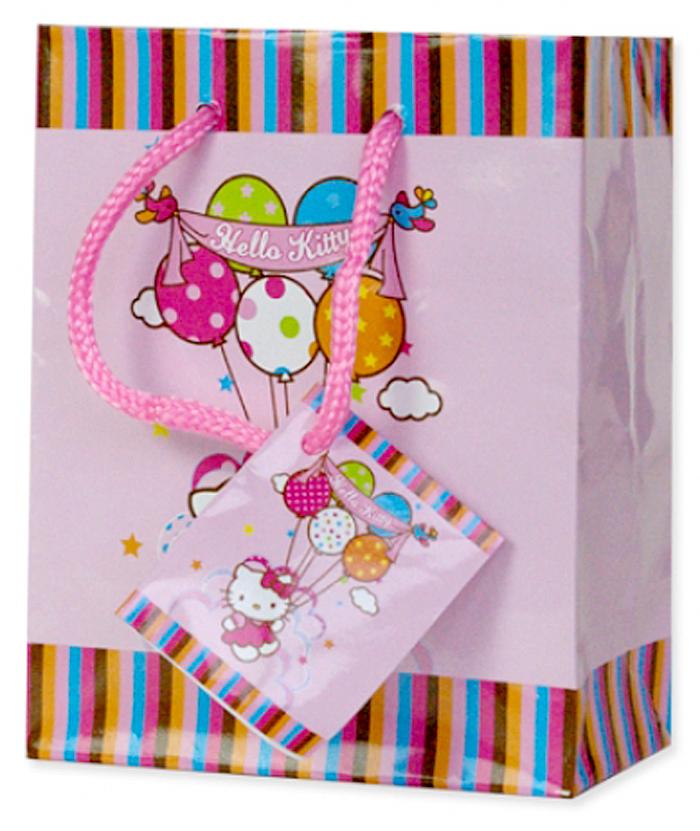 Dárková taška Hello Kitty Baloon 14/11 (Papírová dárková taška Hello Kitty Baloon)