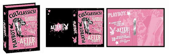 Pořadač Playboy Black and Raspberry A4