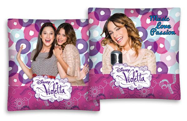 Povlak na polštářek Violetta pink 40/40 (dětský polštářek Violetta)