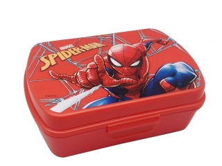 Box na svačinu Spiderman red